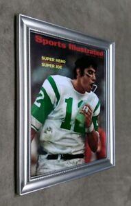 New York Jets Joe Namath SI Cover 8x10 Framed Photo