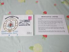 NEWCASTLE United 80th Anniversary of Club 1972 FOOTBALL First Day Cover
