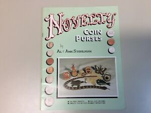 Novelty Coin Purses by Al & Ann Stohlman Ten Projects FulL Size Patterns Leather