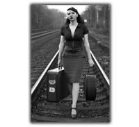 Nice Pin Up Classic Retro Old Stile Rare Girl Woman Art Photo Glossy 5*7 inch β