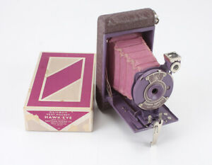 KODAK RAINBOW HAWKEYE VEST POCKET, BOXED, SEVERAL ISSUES, AS-IS/cks/191816