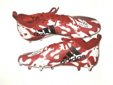 AJ COLE NC STATE WOLFPACK GAME WORN SIGNED ADIDAS ADIZERO TAGGED CLEATS *RAIDERS