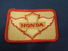 Vintage Honda Motor Co. Automobile Logo Advertising Embroidered Sew On Patch