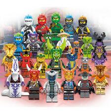 UK 6Pcs Ninjago Wing Mini Figures Kai Jay Cole Zane Lloyd Nya Building Block Toy
