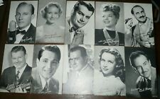 MOVIE STARS ARCADE Cards-Western-Black and White and color 65 card lot  a2