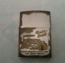 ZIPPO Brass Lighter 1993 Cobra 148 GTL CB Radio Advertisement Lighter