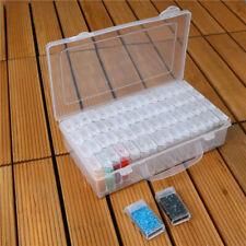64 Slots Aufbewahrungsdosen Box Sortierbox Fächerboxen Perlenbox Nail Art Decor