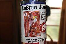 NBA Basketball Lebron James Cleveland Cavaliers 3 ft x 6.5 ft Life Size Fathead