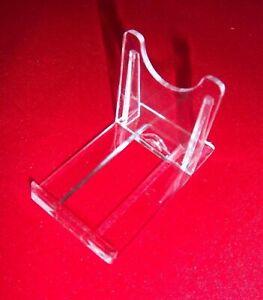 5 Tellerständer Tellerhalter Telleraufsteller Dekoständer Acryl bis 19 cm