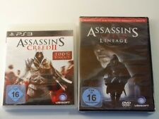 !!! PLAYSTATION ps3 jeu Assassin's Creed II + Lineage d'occasion, mais bien!!!