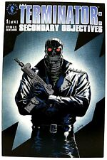 """THE TERMINATOR- SECONDARY OBJECTIVES"" Issue #1 (July, 1991) (Dark Horse Comic)"