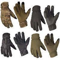 Mil-Tec Softshell Handschuhe Thinsulate Touch Handschuh Fingerhandschuhe S-XXL