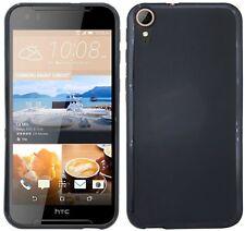 HTC Desire 830 // Guscio in Silicone Custodia Protettiva in Gomma TPU Nero * Qualità Premium