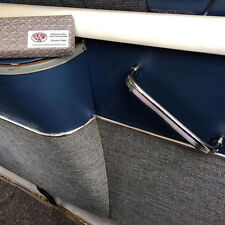 Benna posteriore maniglia per VW Splitscreen Deluxe tutto lucidato ALLUMINIO Samba aac023