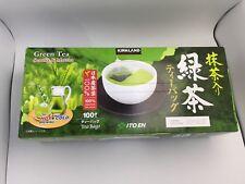 100 Bags Kirkland Signature Ito En Matcha Blend Green Tea 100% Japanese Leaves