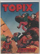 Australian Comic: Topix #13 The Catholic Press Newspaper Co 1954