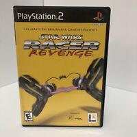 Star Wars Racer Revenge Complete CIB Sony PlayStation 2 PS2 Authentic