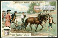 Austria Emperor Joseph II Visits His Subjects 1910 Trade Ad  Card