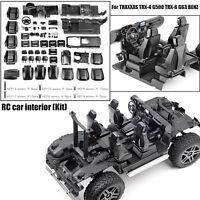 1:10 RC Car Internal Center Cab Für TRAXXAS TRX4 TRX6 BENZ G500 G63 6x6 Auto DIY