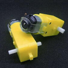 Gear Motor Intelligent Smart Car Gear Motor Robot DC 3V-6V Gear Motor Robot 1:48