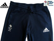 ADIDAS TEAM GB RIO 2016 ELITE FEMALE OLYMPIC ATHLETE ESS SWEAT PANTS Size 16