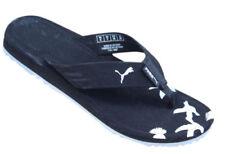 Sandali e scarpe nere PUMA in gomma per il mare da uomo