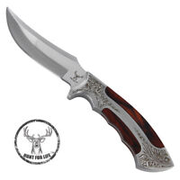 Jameson Hunt For Life™ Hunting Full Tang Fixed Blade Outdoor Camping Knife