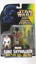 Star Wars Luke Skywalker Figure Deluxe MOC Kenner MOC POTF2
