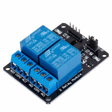 5V Two 2 Channel Relay Module With optocoupler For PIC AVR DSP ARM  Arduino E