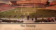 Florida Gators Football at The Swamp Gainsville, FL End Zone Panoramic Photo