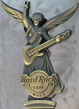 Hard Rock Cafe NICE 2013 ANGEL STATUE with Guitar Bronze PINLE 500 - HRC #74892
