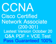 Lastest Cisco CCNA Certified Network Associate 200-301 Exam Dump Q&A PDF+VCE