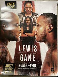 "UFC 265 Fight poster 22""x28"" Lewis Vs Gane"