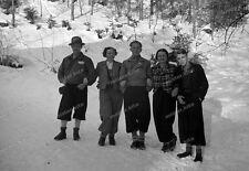 Negativ-Füssen-Allgäu-Umgebung-Wanderer-Cute-Man-Woman-Bayern-1936-1