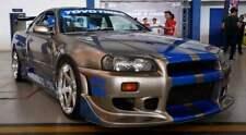 Nissan Skyline GTT34 Convert R34 C WEST F&F Style Wide Body Kit
