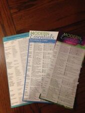 Modern Essential Reference Card 8th + 9th edition + dog + cat reference combo