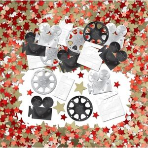 Hollywood Movies / Awards Night Table Confetti Prom Birthday Party Decorations