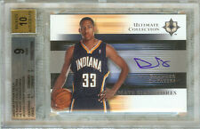 DANNY GRANGER 2005-05 ULTIMATE COLLECTION ULTIMATE SIGNATURES #US-DG BGS 9/AU 10