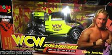 CHRIS JERICHO WCW WORLD WAR 3 NITRO STREETROD VEHICLE. MIB