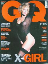 GQ-'03-REBECCA ROMIJN,Sharon Stone,Carla Bruni,Alex Zanardi,Nick Hornby,Placido