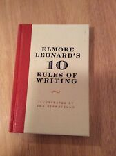 10 Rules of Writing by Elmore Leonard - SIGNED + Pic