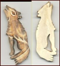 CARVED FETISH Animal    COYOTE  BEAD   #229COY