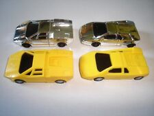 LAMBORGHINI STYLE MODEL SPORTS CARS SET 1:87 H0 - KINDER SURPRISE MINIATURES