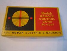 VINTAGE KODAK REMOTE CONTROL CORD 25FT FOR ELECTRIC 8 CAMERAS - IN BOX - OFC-CC