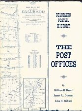 COLORADO POSTAL HISTORY: THE POST OFFICES (1971) All 3 Authors SIGNED HC w/DJ