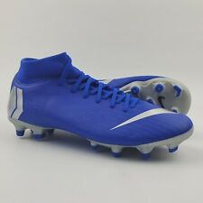 Nike Mercurial Superfly 6 Academy MG Soccer Cleats Men's Size 6 Racer Blue