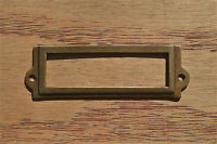 Eastlake cast iron drawer pull furniture handle file cabinet chest draw AL17