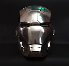 [ Metal ] Brand new CATTOYS 1:1 Iron Man MK42 XLII LED Helmet Replica Polished