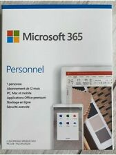 Office 365 Personnel 12 Mois