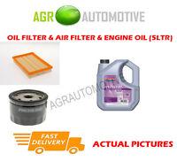 PETROL OIL AIR FILTER KIT + FS 5W30 OIL FOR FORD FIESTA 1.4 90 BHP 1996-02
